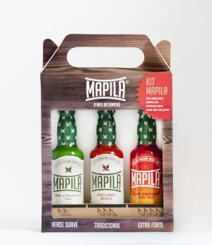 Kit pimenta mapila (3x60ml)