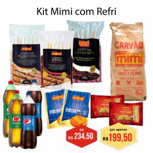 Kit Mimi com Refri
