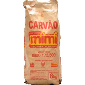 Carvão Espetinhos Mimi Saco 8Kg