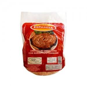 Linguiça Cuiabana de Carne Suína Recheada com Queijo Frescal e Ervas Naturais 900g