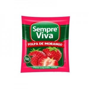Polpa de Fruta Morango 100 gr