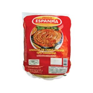Linguiça Cuiabana de Carne Bovina Pacote 900g
