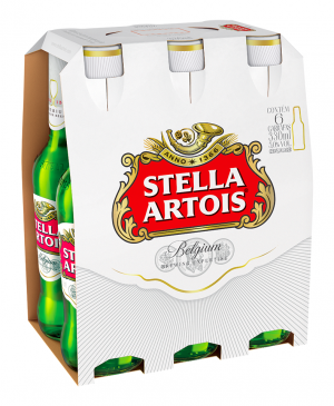 Stella Artois Pack Long Neck 330ml c/ 6 unidades