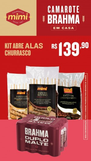 Kit Abre Alas Churrasco