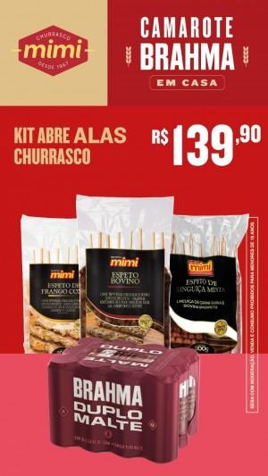 Kit Abre Alas Churrasco