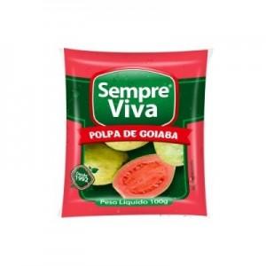 Polpa de Fruta Goiaba 100 gr