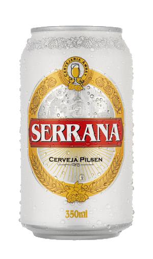 Cerveja Serrana Lata 350ml