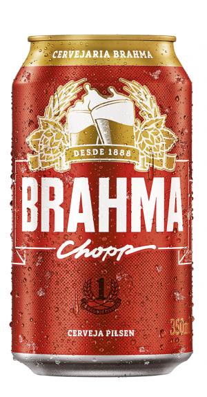 Brahma Chopp Lata 350ml