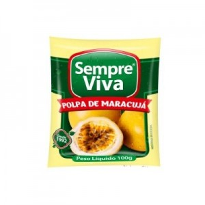 Polpa de Fruta Maracujá 100 gr