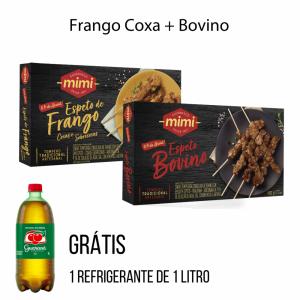 Kit Dupla Caixinhas | Frango + Bovino