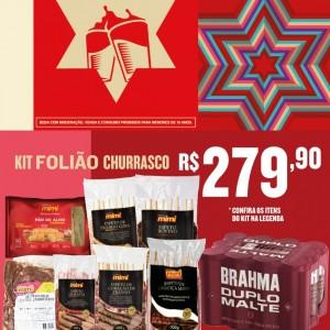 Kit Foliao Churrasco