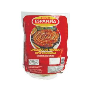 Linguiça Cuiabana de Carne de Frango Recheada com Queijo Frescal e Ervas Naturais Pacote 900g