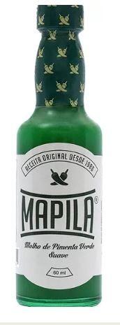 Molho de pimenta verde suave - Habanero