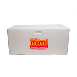 Caixa de Isopor p/ Festas 10L Espetinhos Mimi