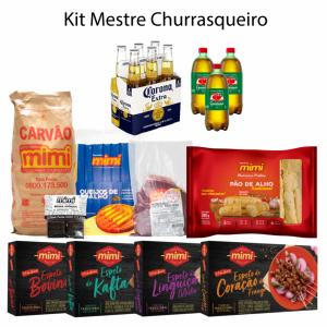 Kit Mestre Churrasqueiro