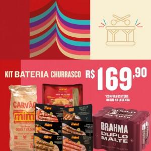 Kit Bateria Churrasco