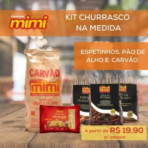 Kit Churrasco na Medida p/ 10 Pessoas