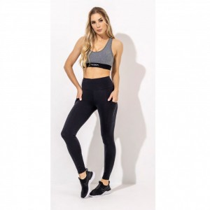 Legging Runner Suplex Power - Preto