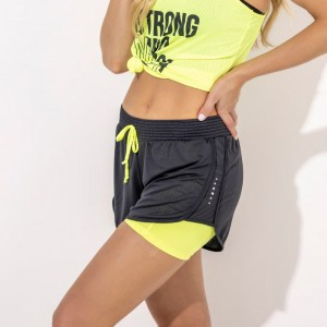 Short com Bermuda String Sublime - Amarelo