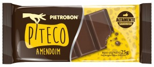 Chocolate Piteco Amendoim Pietrobon 25g