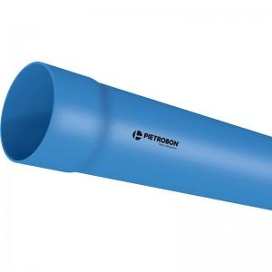 Tubo Irrigação Azul Pietrobon 100mm PN80 - Conjunto c/3 barras de 6m