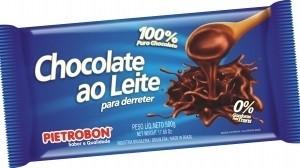 Chocolate Ao Leite Para Derreter Pietrobon 500g