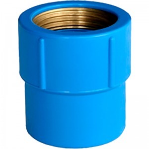 Luva Azul Bucha Latão 25X3/4