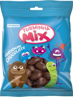 Confeito Amendoim Chocolate Pietrobon250g