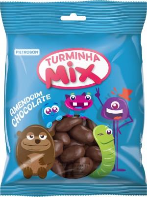 Confeito Amendoim Chocolate Pietrobon 150g