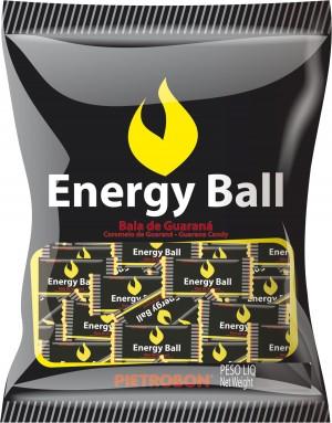 Bala Dura Energy Ball Guaraná Pietrobon 190g