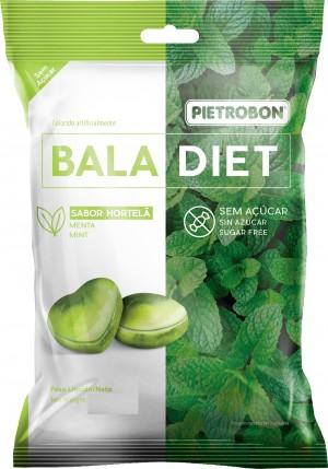 Bala Dura Hortelã Super Fresh Diet Pietrobon50g