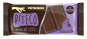 Chocolate Piteco Ao Leite Pietrobon 25g