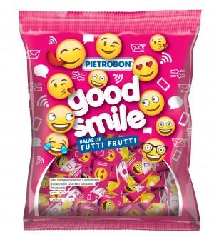 Bala MastigávelTutti Fruti Good SmilePietrobon 60g