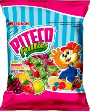Bala MastigávelFrutas Sortidas Piteco Fruits Pietrobon 1kg
