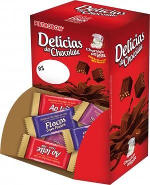 Bombons Delícias do Chocolate Pietrobon Display 600g