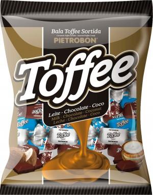 Bala Mastigável Toffee Pietrobon 170g