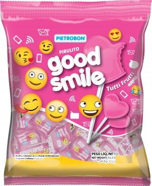 Pirulito Plano Tutti FruttiGood Smile Pietrobon 190g