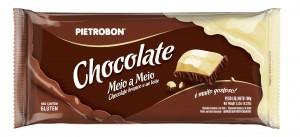 Chocolate Meio a Meio Pietrobon 100g