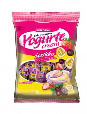 Bala Mastigável Yogurte Sortida Pietrobon 60g