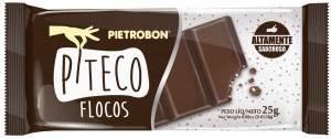 Chocolate Piteco Flocos Pietrobon 25g