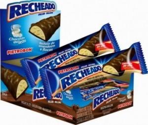 Chocolate Recheado Sabor Amendoim e Flocos Pietrobon 25g