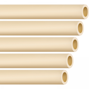 Tubo Premium Reforçado p/ Pulverizador 25mm x 4mm - Barra de 6,3m