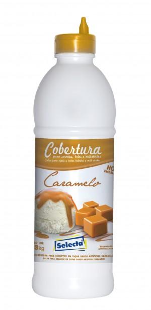 Cobertura Para Sorvete Caramelo Selecta 1,3kg