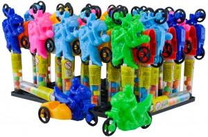 Confeito SortidoC/BrinquedoMotocicleta-Display C/ 30un