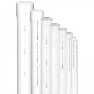 Tubo PVC Esgoto 200mm Pietrobon C/6m