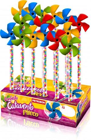Confeito Sortido C/ Catavento -Display C/ 15un