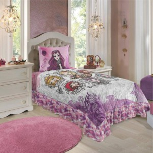 Colcha Matelasse C/Babado Solt.Est.Ever After High