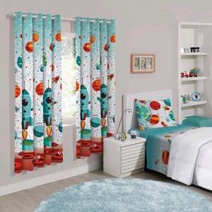 Cortina Londres Basic Infantiil Estampada 180 x 280 m