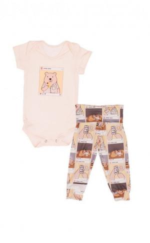 Pijama Baby Born Instabear