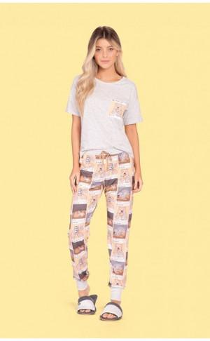 Pijama Comfort Instabear M
